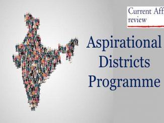 Aspirational Districts Programme