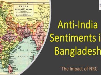 Anti-India Sentiments in Bangladesh