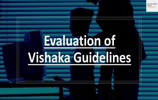 Evaluation of Vishaka Guidelines