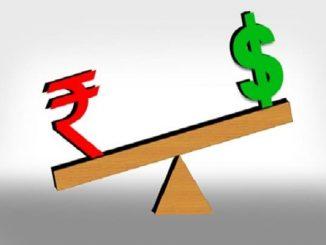 rupee fallen against the dollar
