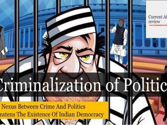 Criminalization of Politics