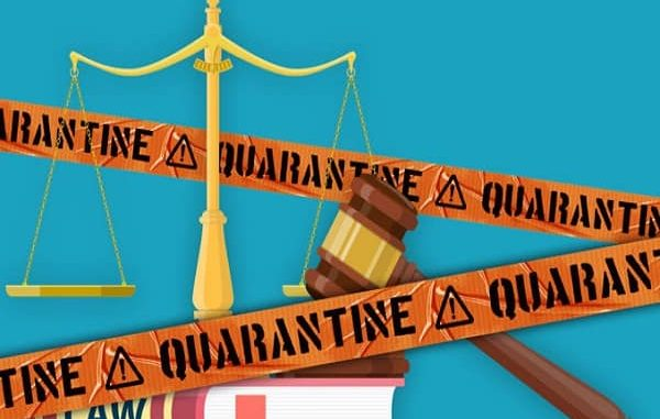 Quarantine and the law