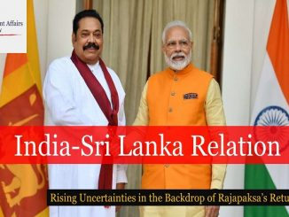 India-Sri Lanka Relation