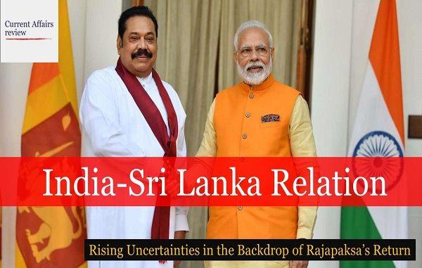 India-Sri Lanka Relation