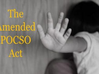 The Amended POCSO Act