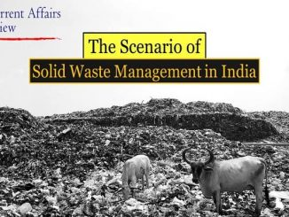 The Scenario of Solid Waste Management in India