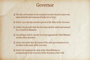 Governor Info 1