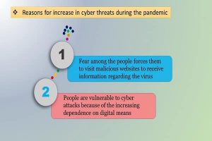 Reasons for increase in cyber threats during the pandemic Info 2