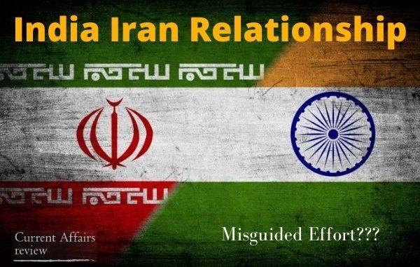 India Iran Relationship