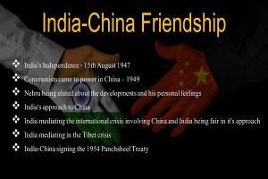 India-China Friendship Info 1