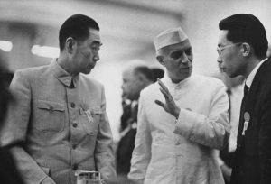 Nehru and Zou Enlai