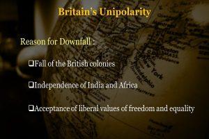 Britain's Unipolarity Info 2