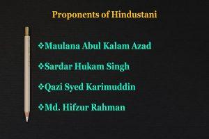 Proponents of Hindustani Info 2