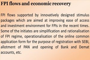FPI flows and economic recovery