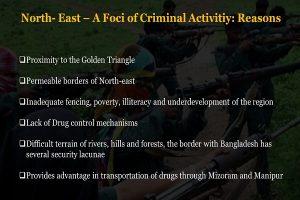 North- East – A Foci of Criminal Activitiy: ReasonsInfo 5